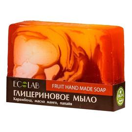 Naturalne mydło glicerynowe - ręcznie robione - Owocowe