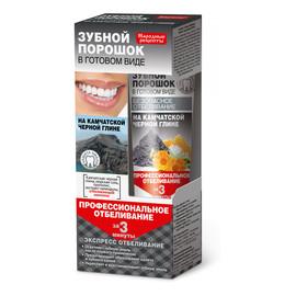 Proszek dentystyczny do zębów w formie pasty na Kamczackiej glince