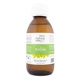 Melisa lekarska Naturalna woda nakrętka