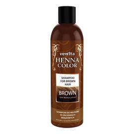 Henna color brown szampon ziołowy do włosów w odcieniach brązowych
