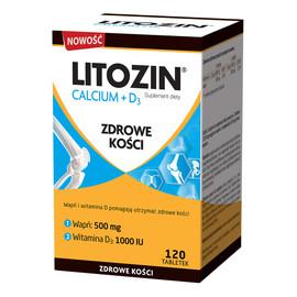 Calcium + d3 zdrowe kości suplement diety 120 tabletek