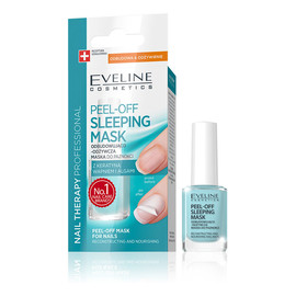 Peel-Off Sleeping maska do paznokci odbudowująco-odżywcza