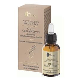 OLEJ ARGANOWY 100% Naturalnej regeneracji skóry - Naturalne źródło młodości