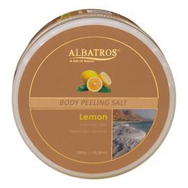 Body peeling salt sól do peelingu ciała lemon