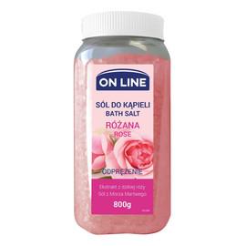 odprężająca sól do kąpieli Różana