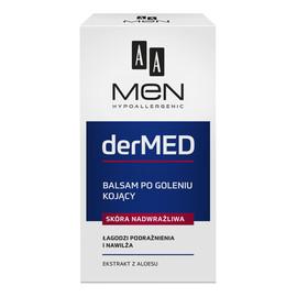 derMED Balsam po goleniu kojący - skóra nadwrażliwa
