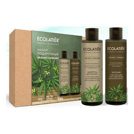 Zestaw podarunkowy do włosów szampon + balsam ORGANIC CANNABIS 2x200ml