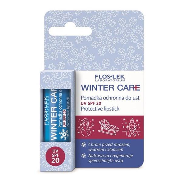Flos Lek Winter Care pomadka ochronna do ust SPF20
