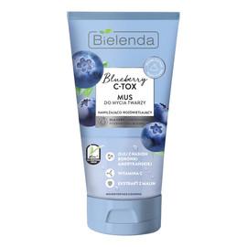 Blueberry MUS do mycia twarzy skóra odwodniona pozbawiona blasku