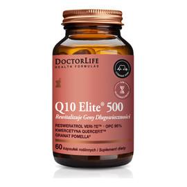 Q10 elite 500 suplement diety rewitalizujący geny długowieczności 60 kapsułek