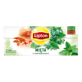 Herbata ziołowa Mięta z Eukaliptusem 20 torebek