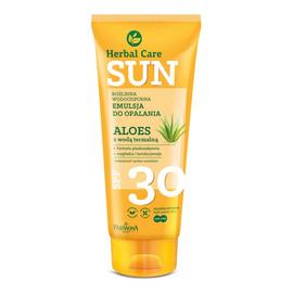 SUN CARE Emulsja d/opalania SPF30 Aloes