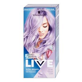 Live ultra brights pretty pastels farba do włosów do 8 myć l120 lilac crush