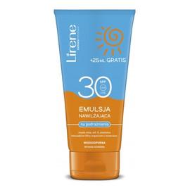 Emulsja przeciwsłoneczna nawilżająca na podrażnienia skóra wrażliwa SPF 30