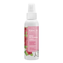 Spray do włosów z octem malinowym włosy suche i zniszczone