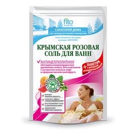 Sól Do Kąpieli Krymska Różowa Antycellulitowa