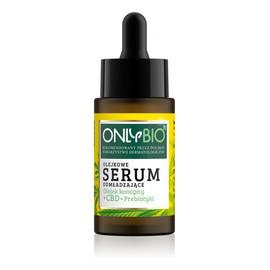 Olejek konopny + CBD + Priebiotyki olejkowe serum odmładzające