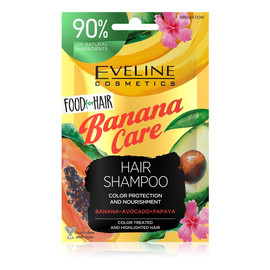 Banana Care Szampon do włosów farbowanych ochrona koloru i odżywienie