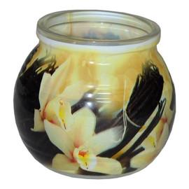 Świeca zapachowa VANILLA szklanka powlekana
