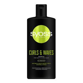 Curls & waves shampoo szampon do włosów falowanych i kręconych