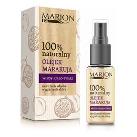 100% Naturalny olejek z marakują do twarzy ciała i włosów