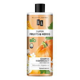 szampon regenerujący włosy zniszczone Dynia & Jaśmin
