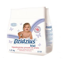 Proszek do prania pieluszek bielizny odzieży niemowlęcej Biel