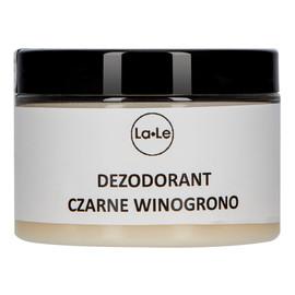 Dezodorant ekologiczny w kremie z olejkiem czarne winogrono