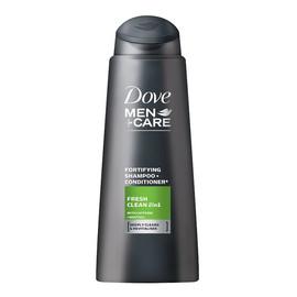 Dove Men Care Szampon do włosów Fresh Clean 2in1 odświeżający
