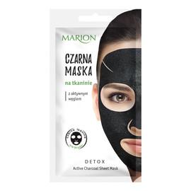 Aktywny Węgiel Maska czarna na tkaninie