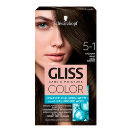 Krem koloryzujący do włosów 5-1 chłodny brąz