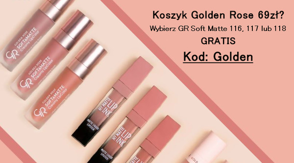 Golden Rose pomadka GRATIS