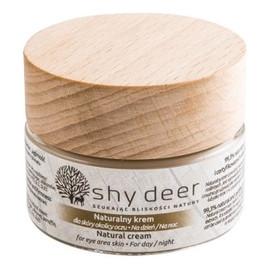 naturalny krem dla skóry okolicy oczu