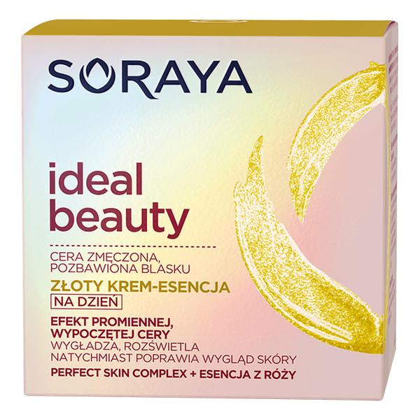 Soraya Ideal Beauty Złoty krem-esencja do cery zmęczonej, pozbawionej blasku 50ml