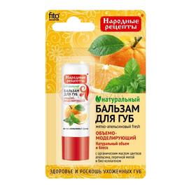 Naturalny balsam do ust MIĘTOWO-POMARAŃCZOWY FRESH