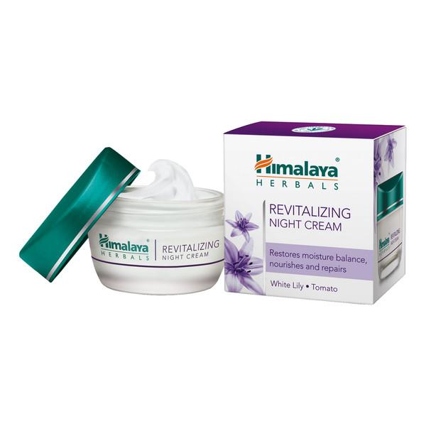 Himalaya HERBALS Herbals Revitalizing Night Cream Krem rewitalizujący na noc 50ml