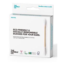 Patyczki Kosmetyczne Eco-Friendly Z Naturalnego Bambusa 100szt.