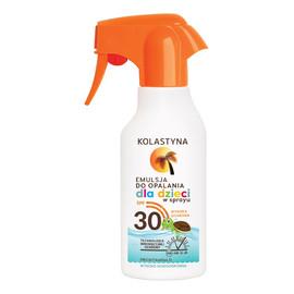 Opalanie Emulsja do opalania dla dzieci SPF 30 spray