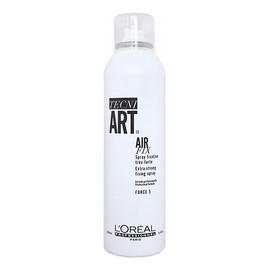 Air Fix Extra-Strong Fixing Spray supermocno utrwalający i chroniący włosy przed puszeniem Force 5