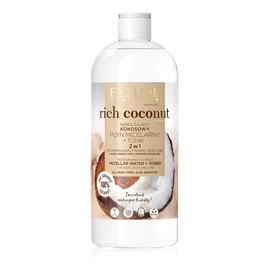 Kokosowy płyn micelarny + tonik 2w1