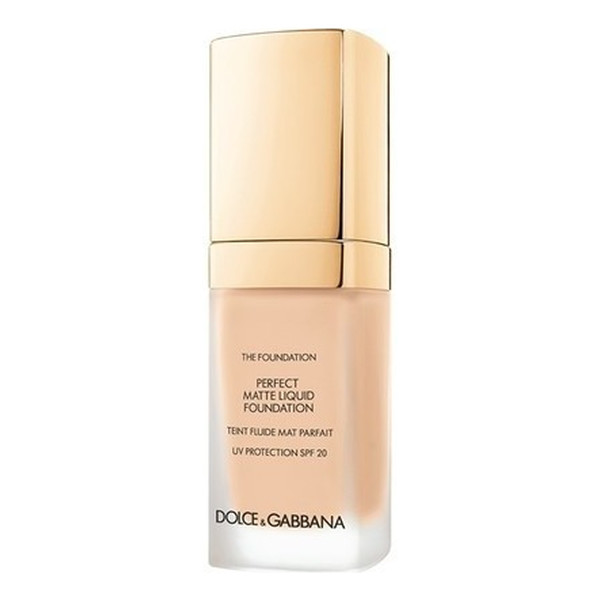 Dolce & Gabbana The Foundation Perfect Matte Liquid Foundation SPF20 podkład matujący 30ml