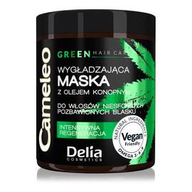 Green Hair Care Wygładzająca Maska Z Olejem Konopnym Do Włosów Niesfornych Pozbawionych Blasku