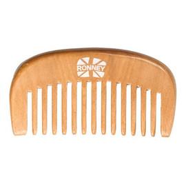 Professional wooden comb profesjonalny drewniany grzebień do włosów 96.5x52mm ra 00119