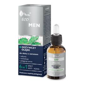 Odżywczy olejek do skóry z zarostem dla mężczyzn