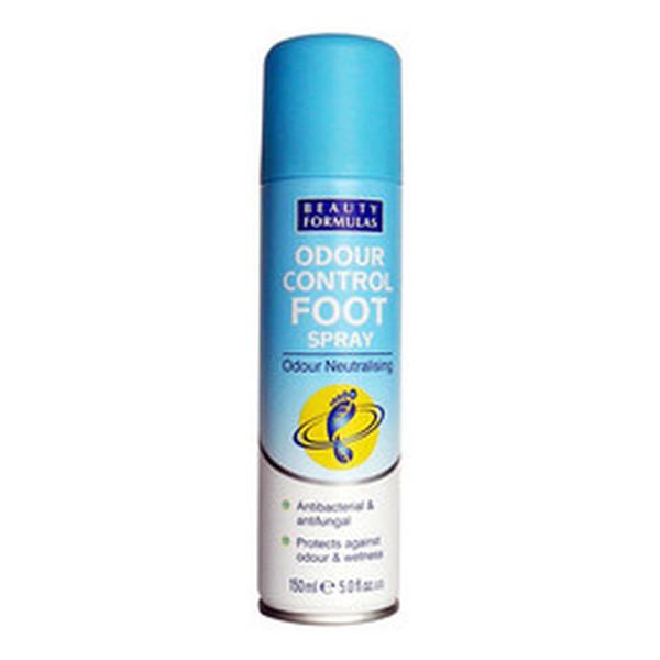 Beauty Formulas Dezodorant Do Stóp Antybakteryjny i Przeciwgrzybiczny 150ml