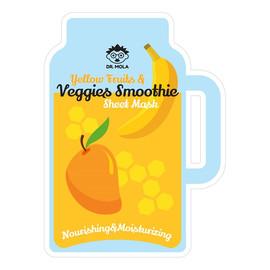 Yellow Fruits & Veggies Smoothie Sheet Mask maseczka w płachcie odżywczo-nawilżająca