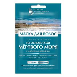 Maska do włosów na bazie soli z Morza Martwego
