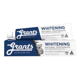 Wybielająca naturalna pasta do zębów bez fluoru