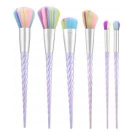 Makeup Brush Unicorn 6 Pcs Set