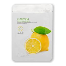 Clarifying lemon essence mask rozświetlająca maseczka do twarzy cytryna